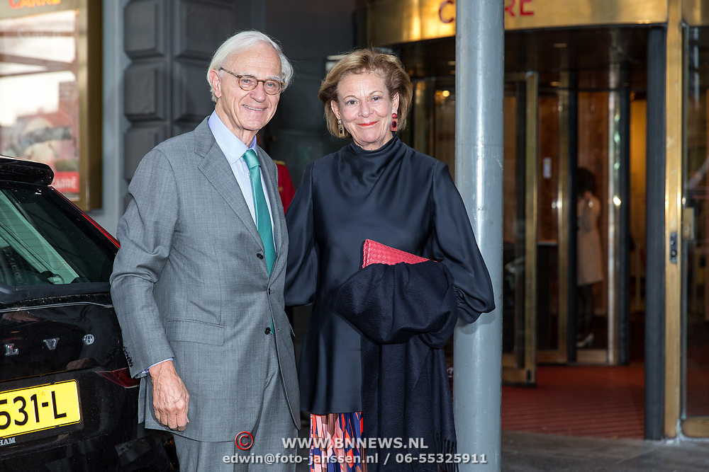 NLD/Amsterdam/20190916 - Prinses Irene viert verjaardag bij een ode aan de natuur , Onno Ruding en partner Renee