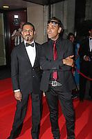 Raj & Pablo, Asian Achievers Awards 2014, Grosvenor House Hotel, London UK, 19 September 2014; Photo By Brett D. Cove