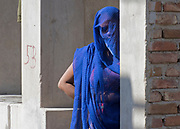 Blue woman from Rajasthan.