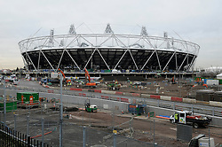 """© under license to London News Pictures. 07/02/2011. West Ham vice-chairman Karren Brady has claimed it would be a """"corporate crime"""" to demolish the Olympic Stadium once the 2012 London Games are over. West Ham are currently vying with Tottenham to move into the venue after the Olympics. Picture credit should read Grant Falvey/London News Pictures."""