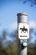 Horse Crossing Pole