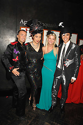 Left to right, designer JULIEN MACDONALD, PATTI WONG, actress TARA REID and ANDY WONG at Andy & Patti Wong's Chinese new Year party held at County Hall and Dali Universe, London on 26th January 2008.<br /><br />NON EXCLUSIVE - WORLD RIGHTS (EMBARGOED FOR PUBLICATION IN UK MAGAZINES UNTIL 1 MONTH AFTER CREATE DATE AND TIME) www.donfeatures.com  +44 (0) 7092 235465