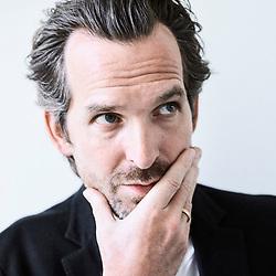 Designer Mathieu Lehanneur in his office. Paris, France. February 2018, 28.<br /> Le designer Mathieu Lehanneur dans son bureau. Paris, France. February 2018, 28.
