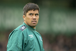 September 22, 2018 - Galway, Ireland - Jarrad Butler of Connacht during the Guinness PRO14 match between Connacht Rugby and Scarlets at the Sportsground in Galway, Ireland on September 22, 2018  (Credit Image: © Andrew Surma/NurPhoto/ZUMA Press)