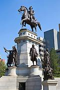 Washington Memorial of President George Washington and famous Virginians, Richmond, USA