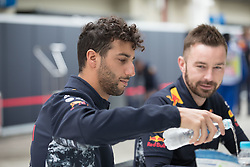 November 11, 2017 - Sao Paulo, Sao Paulo, Brazil - 3 DANIEL RICCIARDO, of Red Bull Racing, during the preparation for the free practice for the Formula One Grand Prix of Brazil at Interlagos circuit, in Sao Paulo, Brazil. The grand prix will be celebrated next Sunday, November 12. (Credit Image: © Paulo Lopes via ZUMA Wire)