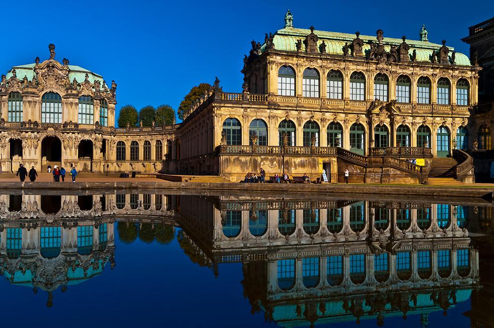 The Dresden Zwinger, Dresden, Saxony, Germany
