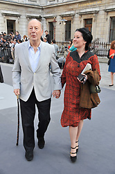 EDGAR ASTAIRE and SCARLETT OLIVER at the Royal Academy of Arts Summer Exhibition Preview Party at Burlington House, Piccadilly, London on 2nd June 2011.