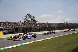 November 17, 2019, Sao Paulo, Brazil: xa9; Photo4 / LaPresse.17/11/2019 Sao Paulo, Brazil.Sport .Grand Prix Formula One Brazil 2019.In the pic: Lance Stroll (CDN) Racing Point F1 Team RP19 and Daniel Ricciardo (AUS) Renault Sport F1 Team RS19 (Credit Image: © Photo4/Lapresse via ZUMA Press)