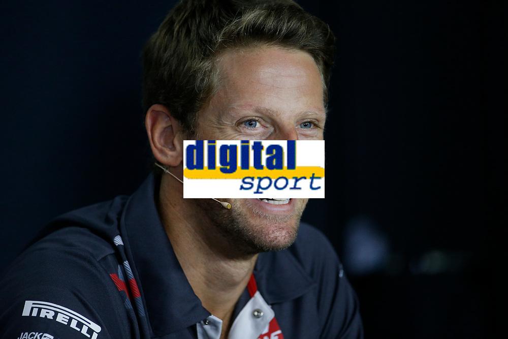 Romain Grosjean Team Haas<br /> Monza 30-08-2018 GP Italia <br /> Formula 1 Championship 2018 <br /> Foto Federico Basile / Insidefoto