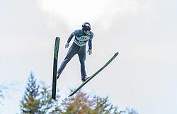 12.10.2014, Montafoner Schanzenzentrum, Tschagguns, AUT, OeSV, Oesterreichische Staatsmeisterschaften Ski Nordisch, im Bild Alexander Brandner, (AUT)// during Austrian Nordic Ski Championships at the Montafoner Schanzenzentrum, Tschagguns, Austria on 2014/10/12. EXPA Pictures © 2014, EXPA/ Peter Rinderer