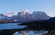 Lago (Lake) Pehoe, Torres de Paine, Patagonia, Chile<br />