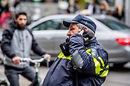 AMSTERDAM - Politie op straat in Amsterdam