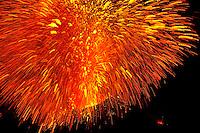 Explosion, Stromboli Volcano, Italia