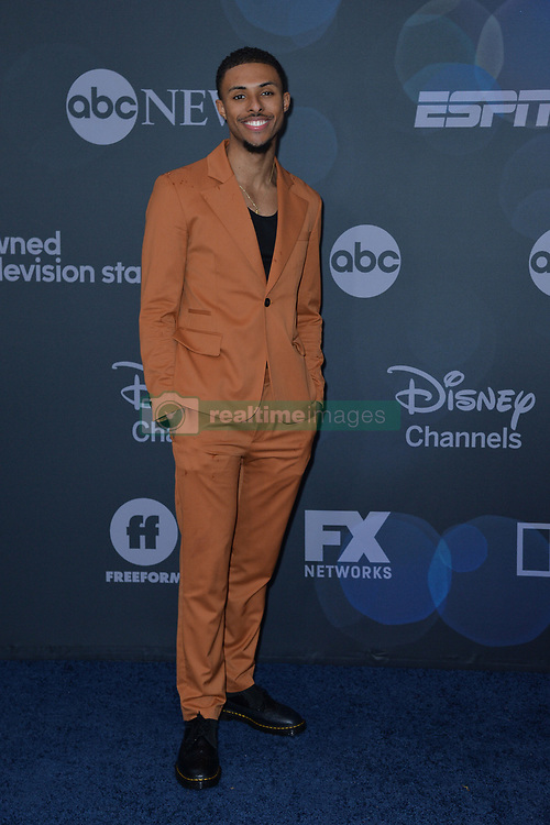May 14, 2019 - New York, NY, USA - May 14, 2019  New York City..Diggy Simmons attending Walt Disney Television Upfront presentation party arrivals at Tavern on the Green on May 14, 2019 in New York City. (Credit Image: © Kristin Callahan/Ace Pictures via ZUMA Press)