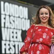 London Fashion Week Festival at 180 Strand, London, UK
