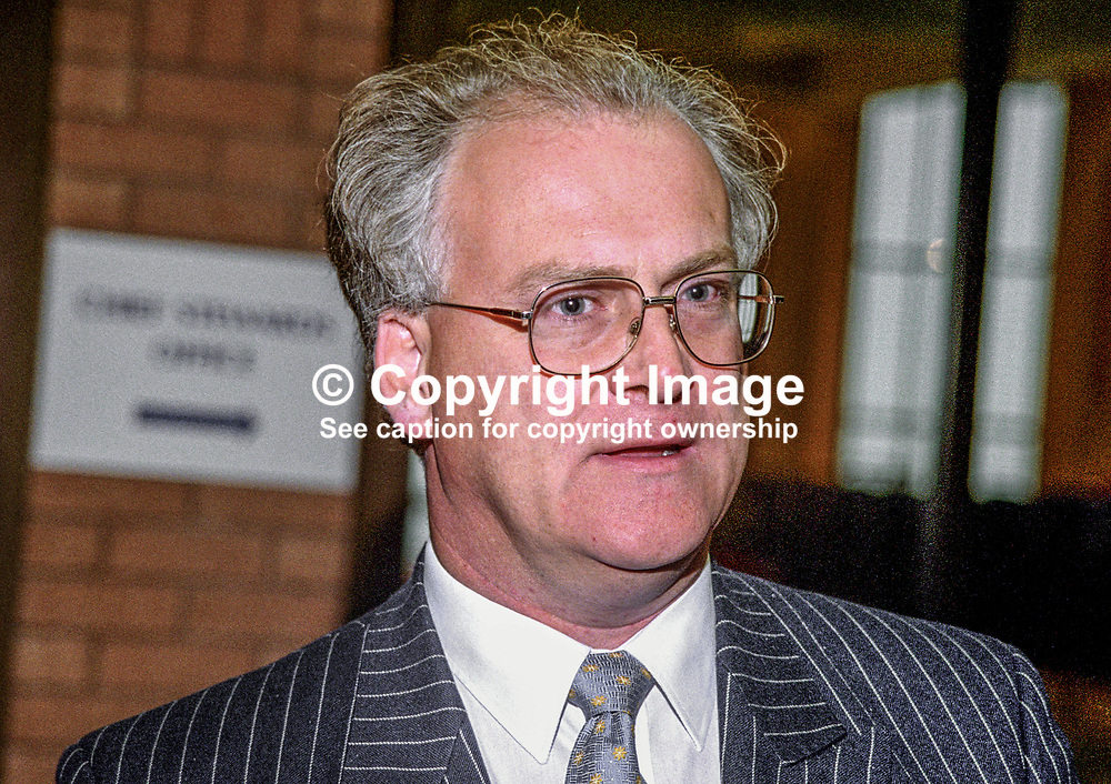 Michael Trend, MP, UK, Conservative Party, 199810204.<br /> <br /> Copyright Image from Victor Patterson, Belfast, UK<br /> <br /> t: +44 28 9066 1296 (from Rep of Ireland 048 9066 1296)<br /> m: +44 7802 353836<br /> e: victorpattersonbelfast@gmail.com<br /> <br /> www.images4media.com<br /> <br /> Please see my full Terms and Conditions of Use at https://www.images4media.com/p/terms-conditions - it is IMPORTANT that you familiarise yourself with them.<br /> <br /> Images used online incur an additional cost. This cost should be agreed in writing in advance. Online images must be visibly watermarked i.e. © Victor Patterson or that of the named photographer within the body of the image. The original metadata must not be deleted from images used online.<br /> <br /> This image is only available for the use of the download recipient i.e. television station, newspaper, magazine, book publisher, etc, and must not be passed on to a third party. It is also downloaded on condition that each and every usage is notified within 7 days to victorpattersonbelfast@gmail.com.<br /> <br /> The right of Victor Patterson (or the named photographer) to be identified as the author is asserted in accordance with The Copyright Designs And Patents Act (1988). All moral rights are asserted.