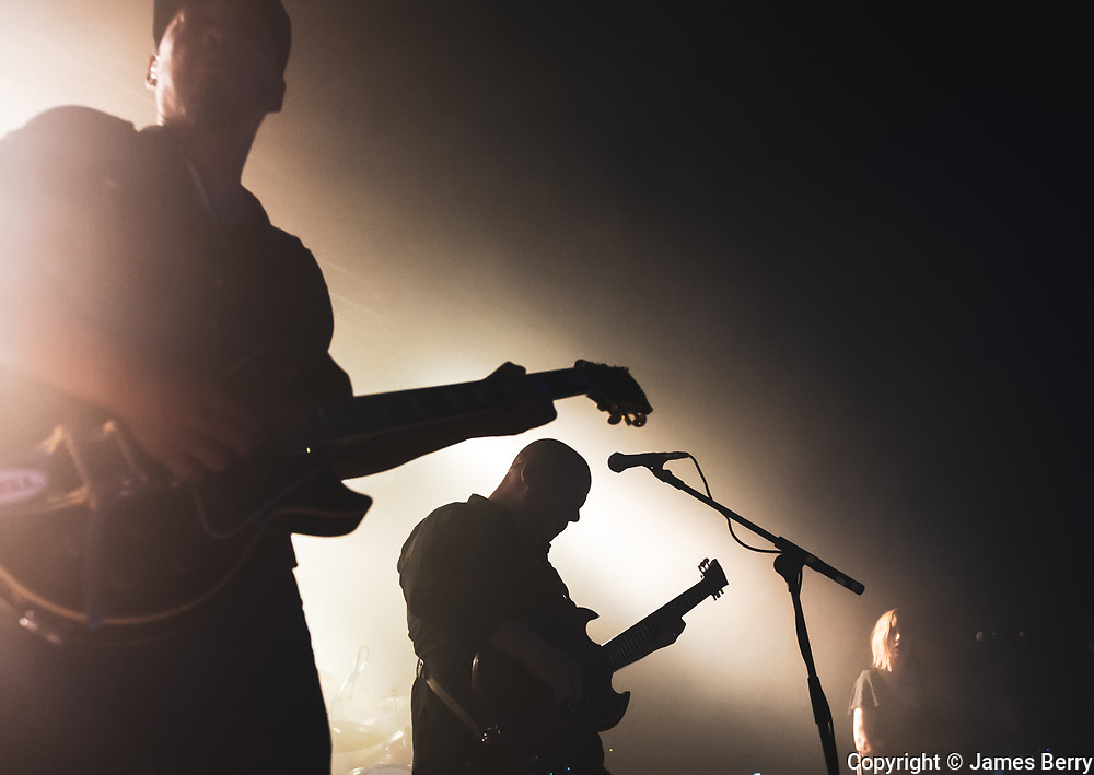 Pixies perform an intimate show live at Electric Brixton on Friday 27 September as part of a short series of London dates. Picture shows Black Francis and Joey Santiago.
