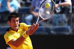 30-04-2010 TENNIS: ATP MASTERS: ROME<br /> Novak Djokovic (SRB)<br /> ©2010- FRH nph / A. Baldassarre