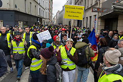 Act 12 of yellow vests protest at the Rue Charenton in Paris, France, on February 02, 2019. Photo by Serge Tenani/Avenir Pictures/ABACAPRESS.COM