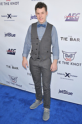 Nolan Gould arrives at Jessie Tyler Ferguson's 'Tie The Knot' 5 Year Anniversary celebration held at NeueHouse Hollywood in Los Angeles, CA on Thursday, October 12, 2017. (Photo By Sthanlee B. Mirador/Sipa USA)
