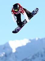 Alpint OL ,6. februar 2014 ,  Krasnaja Poljana, 06.02.2014, Olympische Winterspiele Sotschi 2014, Snowboard Slopestyle Frauen Quali, Silje Norendal (NOR) <br /> <br /> Krasnaya Poljana 06 02 2014 Olympic Winter Games Sochi 2014 Snowboarding Slopestyle Women Qualif Silje  NOR<br /> Norway only