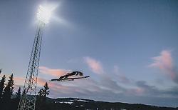 11.03.2020, Granasen, Trondheim, NOR, FIS Weltcup Skisprung, Raw Air, Trondheim, Herren, im Bild Constantin Schmid (GER) // Constantin Schmid of Germany during men's 3rd Stage of the Raw Air Series of FIS Ski Jumping World Cup at the Granasen in Trondheim, Norway on 2020/03/11. EXPA Pictures © 2020, PhotoCredit: EXPA/ JFK