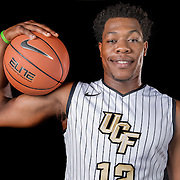 Guard Matt Williams poses during the Knights media day event at the University of Central Florida CFE Arena on Monday, October 7, 2013 in Orlando, Florida. (AP Photo/Alex Menendez)