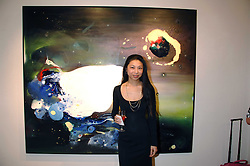 HSIAO-MEI LIN at a private view of her paintings held at the Adam gallery, 24 Cork Street, London on 28th April 2008.<br /><br />NON EXCLUSIVE - WORLD RIGHTS