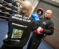 Steel City Boxing Gym in Sheffield sponsored by Rhodar<br /> 7th December 2010