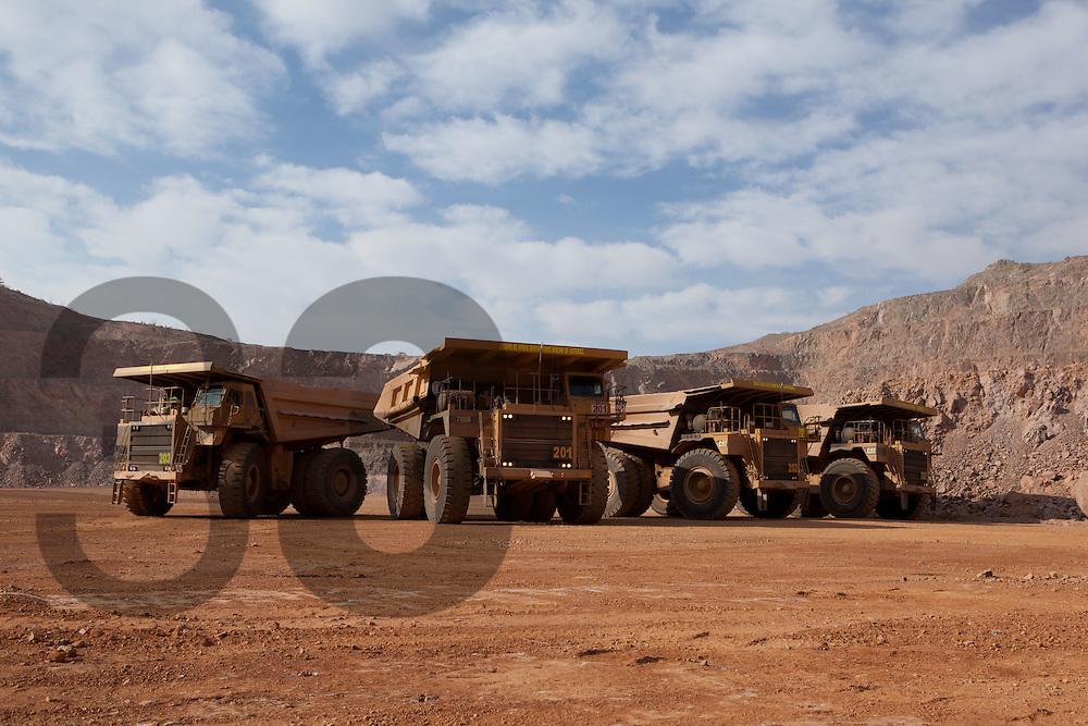 Herradura mine, Minera Penmont part of Fresnillo plc. The world's largest primary silver producer.