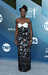 Lupita Nyong'o at the 26th Annual Screen Actors Guild Awards held at the Shrine Auditorium in Los Angeles, USA on January 19, 2020.