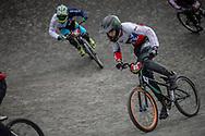 Cruiser - 15 & 16 Men #85 (SALVATIERRA Benjamin) CHI at the 2018 UCI BMX World Championships in Baku, Azerbaijan.