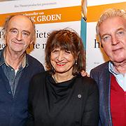 NLD/Utrecht/20171212 - Premiere Hendrik Groen, Kees Hulst, Olga Zuiderhoek, Andre van Duin