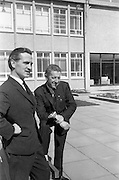 19/04/1963<br /> 04/19/1963<br /> 19 April 1963<br /> Esso staff at Esso Petroleum (Ireland) , Stillorgan, Dublin.  Tom Hayes (left) and Jimmy Duggan.