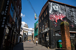 Cardiff, UK. 2nd May, 2017. Womanby Street, one of the city's oldest streets, is best-known for its bars, clubs and grassroots music venues. The Save Womanby Street campaign is currently calling on Cardiff Council and the Welsh Government to change its planning policies to protect its music venues against noise complaints.