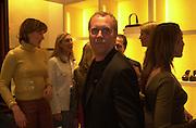 Santa Palmer-Tompkinson, Kim Herzog and Michael Kors. Celine fashion show and lunch. New Bond St. London. 8 May 2001. © Copyright Photograph by Dafydd Jones 66 Stockwell Park Rd. London SW9 0DA Tel 020 7733 0108 www.dafjones.com