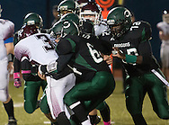 Middletown, New York  - New Paltz plays Cornwall in a Section 9 Class A semifinal  football game on Oct. 31, 2014.
