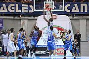 Jaquan Johnson<br /> Red October Cantu' Banco di Sardegna Sassari<br /> Basket serie A 2016/2017<br /> Milano 23/10/2016<br /> Foto Ciamillo-Castoria<br /> Provvisorio