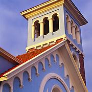 South America, Uruguay, Punta del Este, Quaint chapel in resort town.