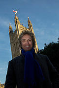British businessman Charles Mullins outside Parliament waiting to be interviewed by the BBC on the 13th December 2018 in Central London in the United Kingdom. Charles Mullins OBE is a British businessman, and the founder of Pimlico Plumbers, Londons largest independent plumbing company.