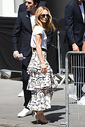 Vanessa Paradis arrive at the Chanel fashion show in Paris, France on July 3rd, 2018, Two days after her wedding. Photo by ABACAPRESS.COM