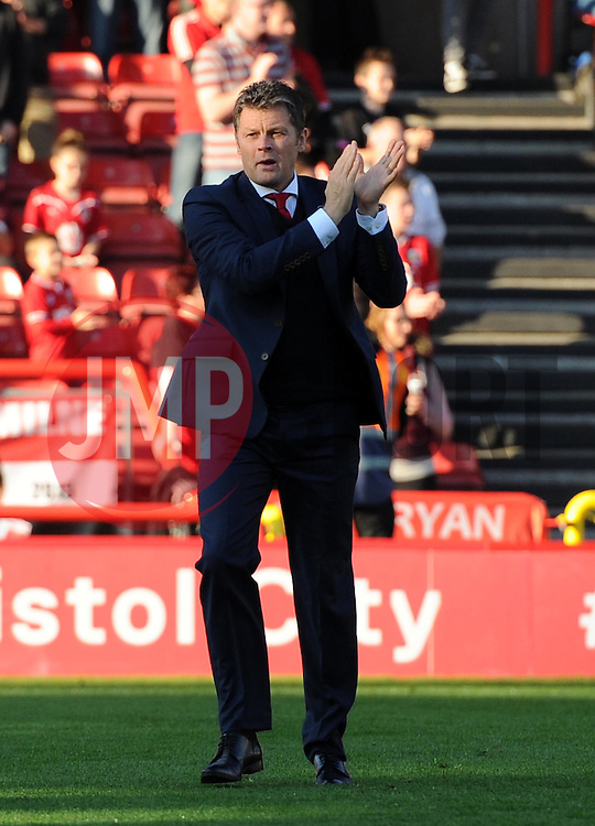Bristol City manager Steve Cotterill - Mandatory by-line: Paul Knight/JMP - Mobile: 07966 386802 - 31/10/2015 -  FOOTBALL - Ashton Gate Stadium - Bristol, England -  Bristol City v Fulham - Sky Bet Championship