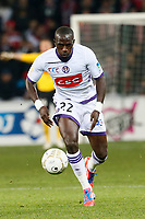 FOOTBALL - FRENCH LEAGUE CUP 2012/2013 - 1/8 FINAL - LILLE OSC v TOULOUSE FC - 30/10/2012 - PHOTO CHRISTOPHE ELISE / DPPI - MOUSSA SISSOKO (TOULOUSE FC)