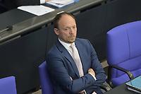 DEU, Deutschland, Germany, Berlin, 07.05.2020: Der Ostbeauftragte der Bundesregierung, Marco Wanderwitz (CDU), bei einer Plenarsitzung im Deutschen Bundestag.