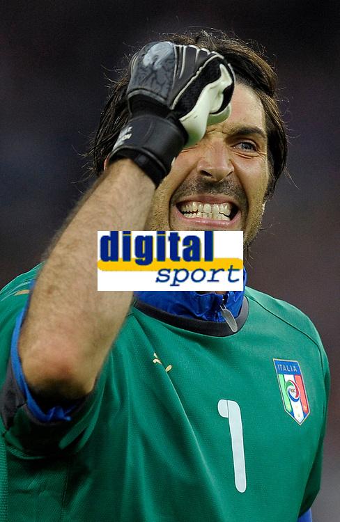 Jubel von Gianluigi Buffon (ITA) nach dem Tor zum 0:1 © Valeriano Di Domenico/EQ Images