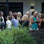 NLD/Huizen/201200705 - Verrassingsfeest Estelle Gullit - Cruijff met partner Badr Hari, met oa Patty Brard, Leontine Borsato, Kristina Bozilovic