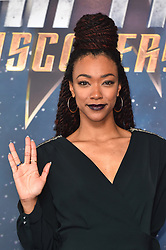 Sonequa Martin-Green attending a Star Trek: Discovery fan screening at Millbank Tower in London.