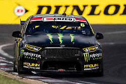October 7, 2018 - Bathurst, NSW, U.S. - BATHURST, NSW - OCTOBER 07: Cameron Waters / David Russell in the Monster Energy Racing Ford Falcon through the final corner at the Supercheap Auto Bathurst 1000 V8 Supercar Race at Mount Panorama Circuit in Bathurst, Australia. (Photo by Speed Media/Icon Sportswire) (Credit Image: © Speed Media/Icon SMI via ZUMA Press)