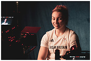 Interview with Olympic gold medalist - Lauren Price Team GB Prep Camp at the Yokohama Intercontinental Hotel. Commissioned by the British Olympic Association to shoot Tokyo 2020 and Team GB Prep Camp.